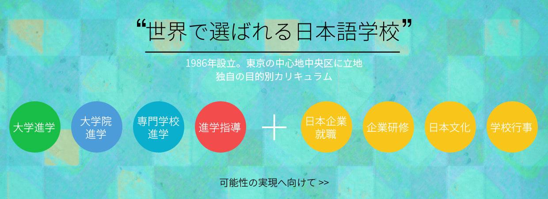 世界で選ばれる日本語学校