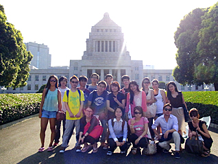 Field trip to the National Diet Building